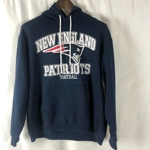 Team Apparel New England Patriots Graphic Hoodie L
